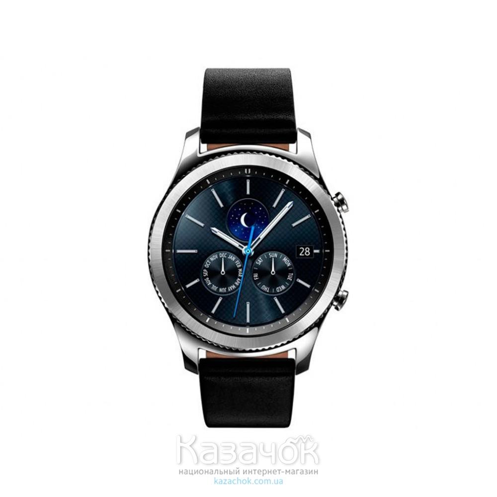 Умные часы Samsung Gear S3 Classic Silver (SM-R770NZSASEK)