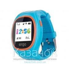 Детские умные часы ERGO GPS Tracker Junior Color J010 Blue
