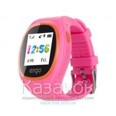 Детские умные часы ERGO GPS Tracker Junior Color J010 Pink
