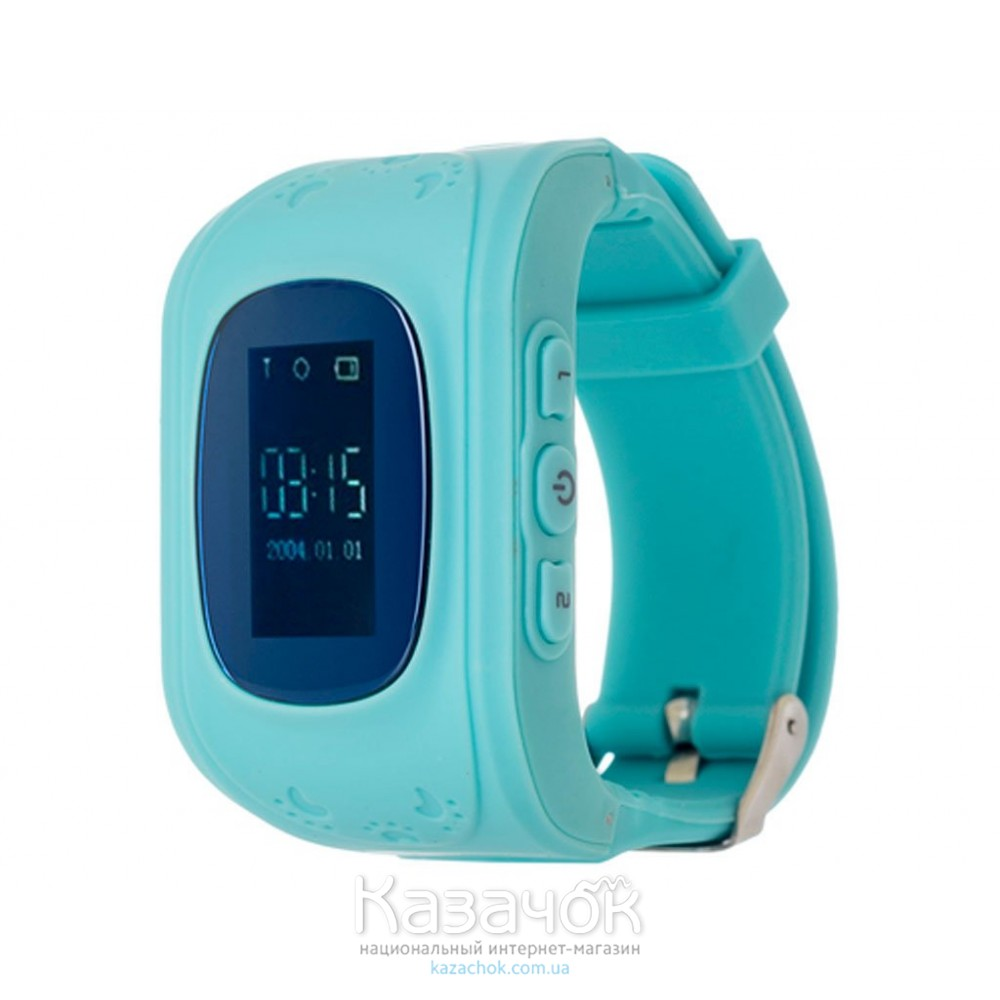 Детские умные часы ERGO GPS Tracker Junior Color K010 Blue