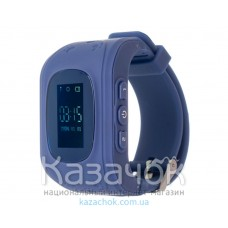Детские умные часы ERGO GPS Tracker Junior Color K010 Dark Blue