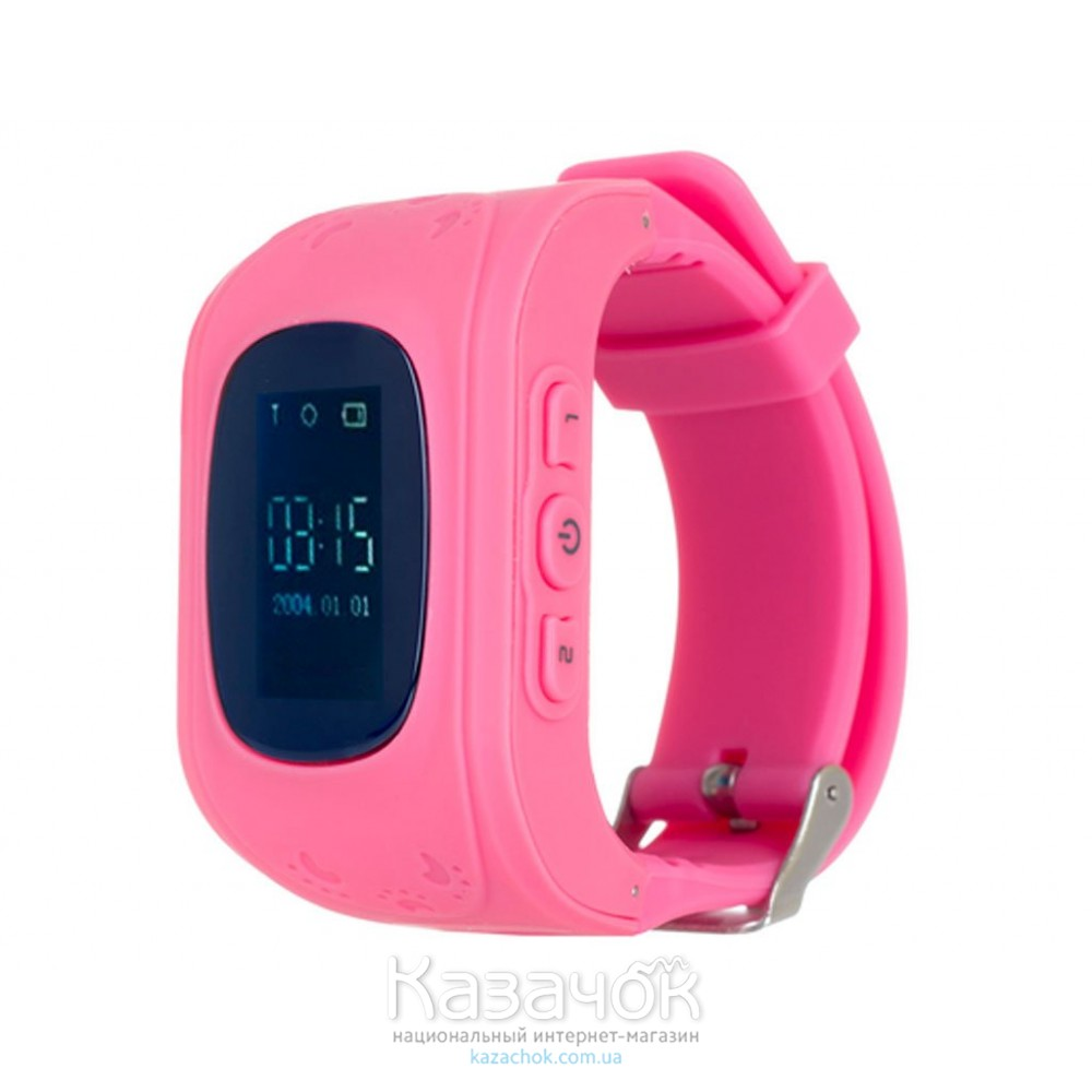 Детские умные часы ERGO GPS Tracker Junior Color K010 Pink