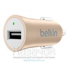 Автомобильное зарядное устройство USB Mixit Premium USB 2.4A Gold (F8M730btGLD)