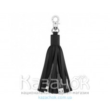 USB-кабель BELKIN USB 2.0 Lightning Charge TASSEL Black (F8J174bt06INBLK)