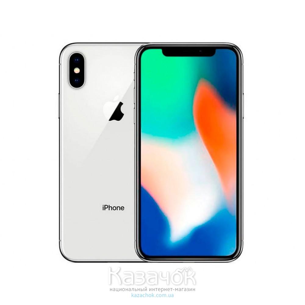 Apple iPhone X 64GB Silver UA