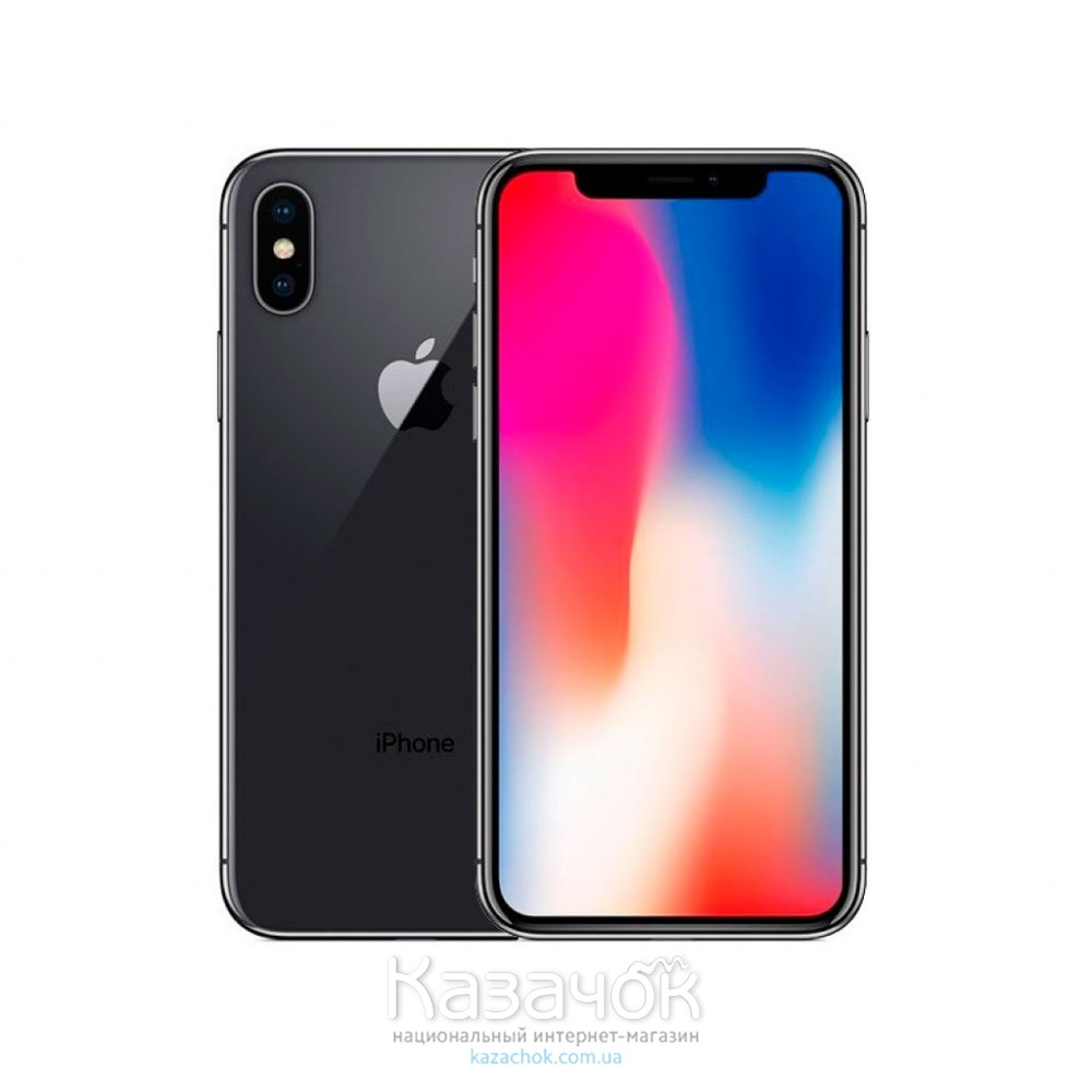 Apple iPhone X 64GB Space Grey UA