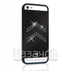 Чехол White Diamonds Materialized Metal Aviator iPhone 5/5S Black (1210MMAVI6)