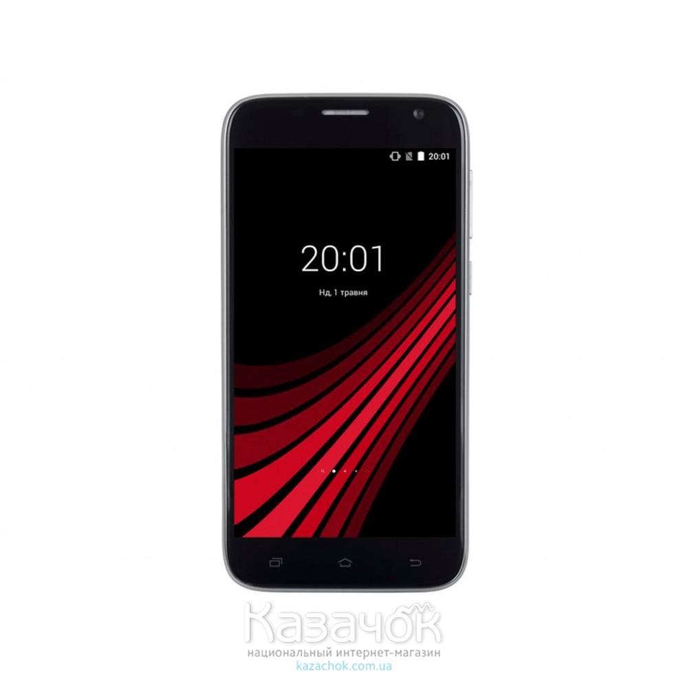 Мобильный телефон Ergo F502 Platinum Dual Sim Dark Grey