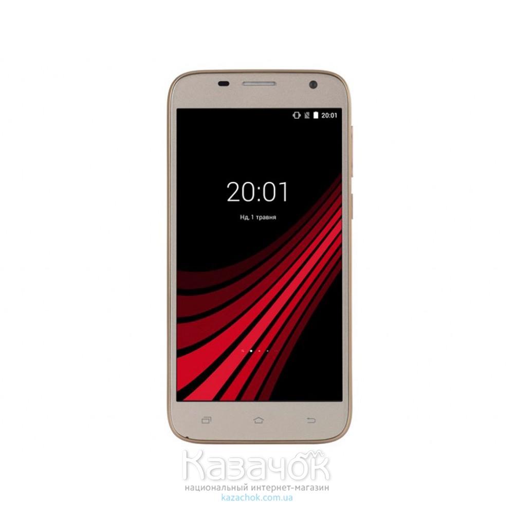 Мобильный телефон Ergo F502 Platinum Dual Sim Gold