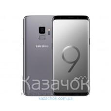Мобильный телефон Samsung Galaxy S9 2018 G960F 64GB Dual Sim Titanium Gray