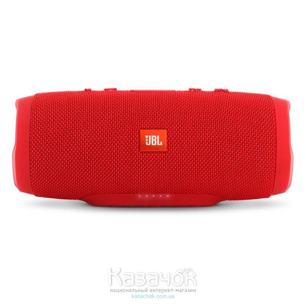 Портативная акустика JBL Charge 3 Red (JBLCHARGE3REDEU)