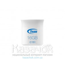 USB Flash Team C151 16GB White (TC15116GL01)