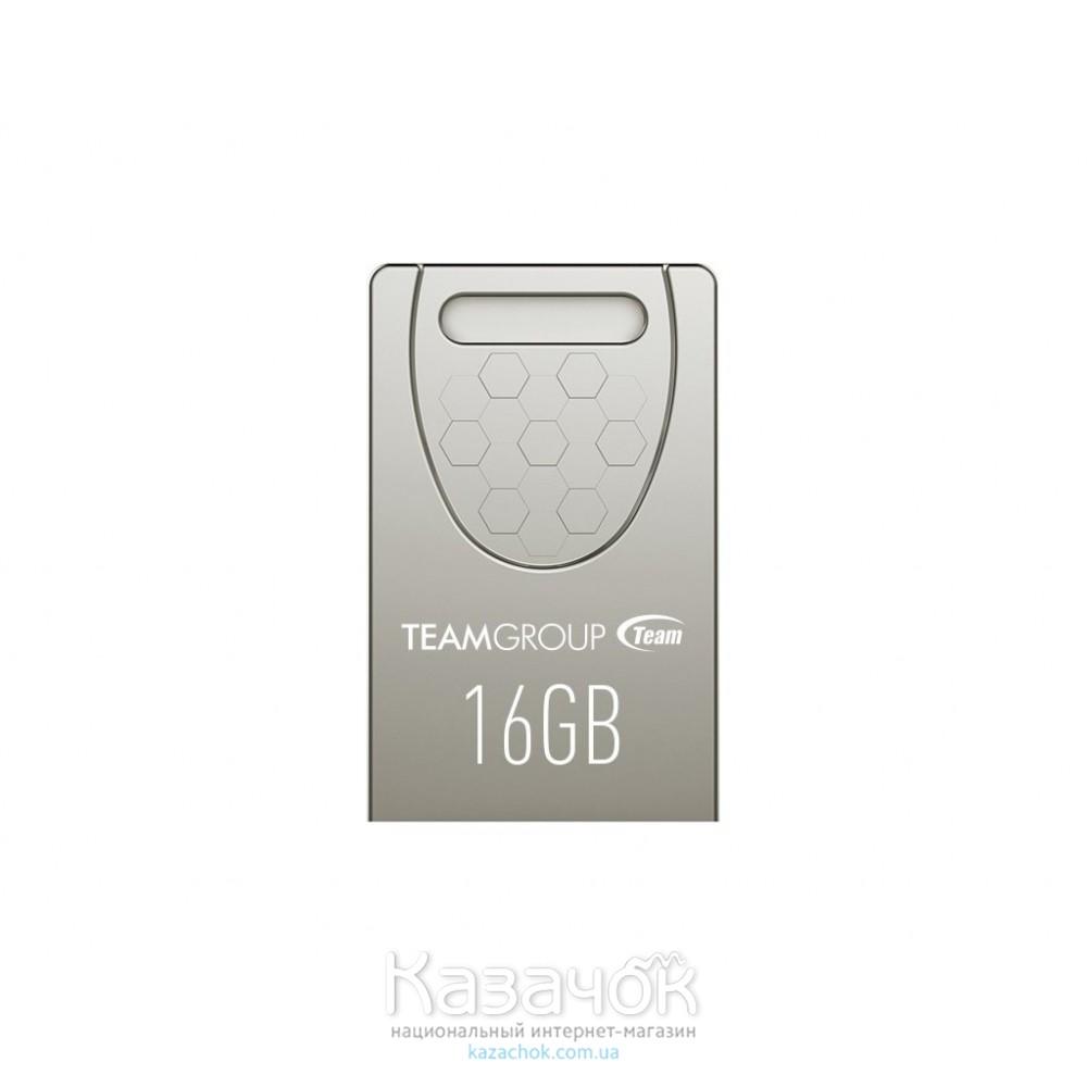 USB Flash Team C156 16GB Silver (TC15616GS01)