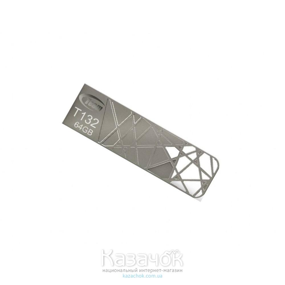 USB Flash Team T132 64GB 3.0 Silver (TT13264GS01)