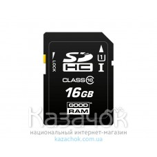 Карта памяти SDHC 16GB UHS-I Class 10 GOODRAM (S1A0-0160R11)