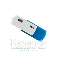 USB Flash GOODRAM 32GB UCO2 Colour Mix Blue/White (UCO2-0320MXR11)