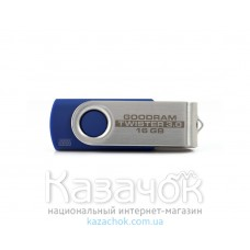 USB Flash GOODRAM 16GB UTS2 Twister Blue (UTS2-0160B0R11)
