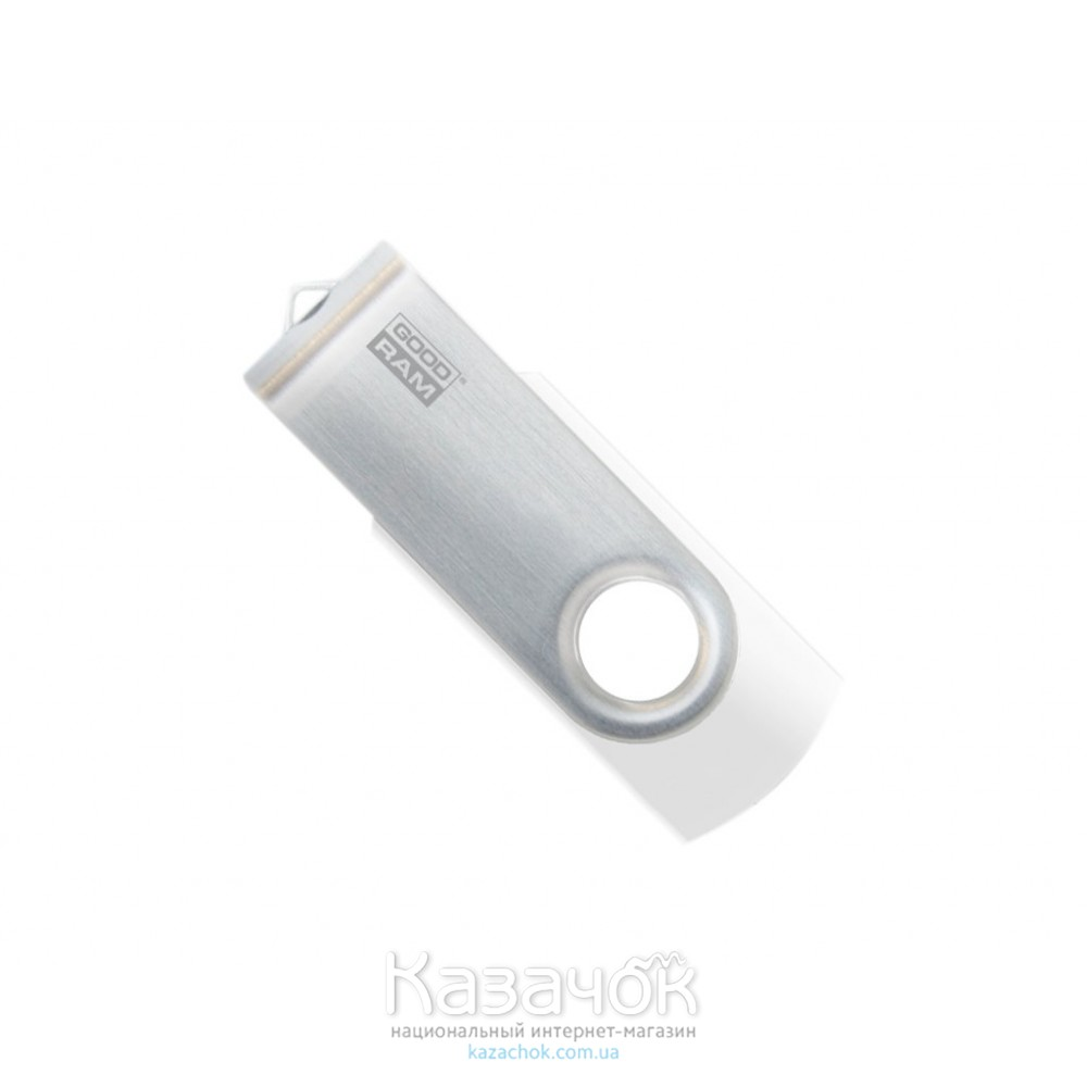 USB Flash GOODRAM 8GB UTS2 Twister White (UTS2-0080W0R11)