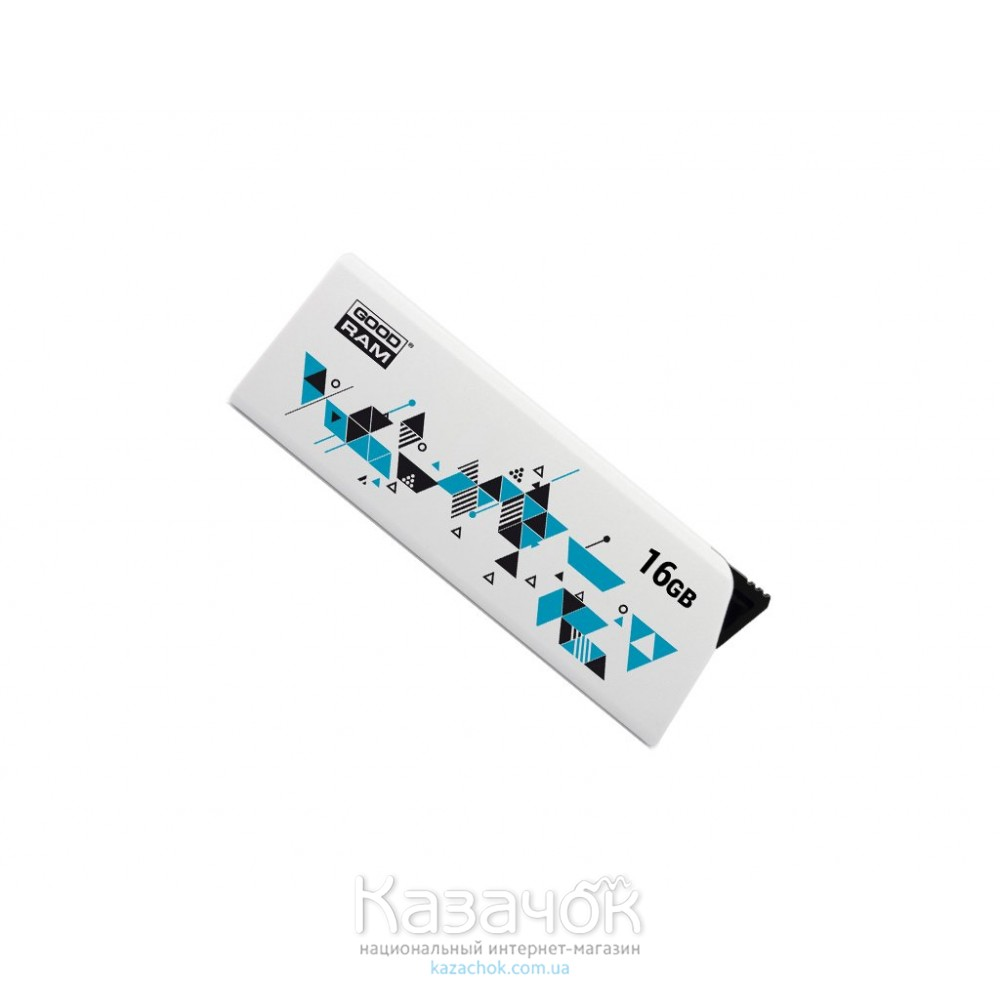 USB Flash GOODRAM 16GB UCL2 Click White (UCL2-0160W0R11)