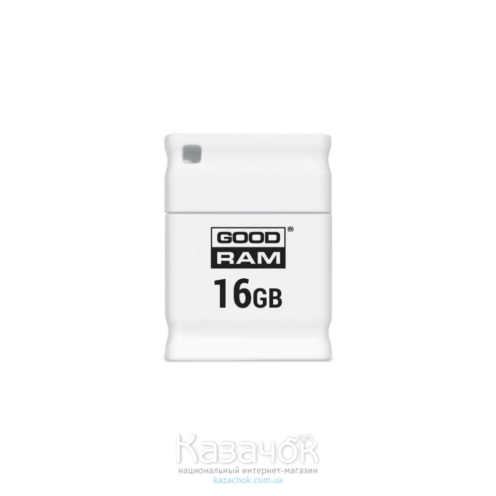 USB Flash GOODRAM 16GB UPI2 Piccolo White (UPI2-0160W0R11)