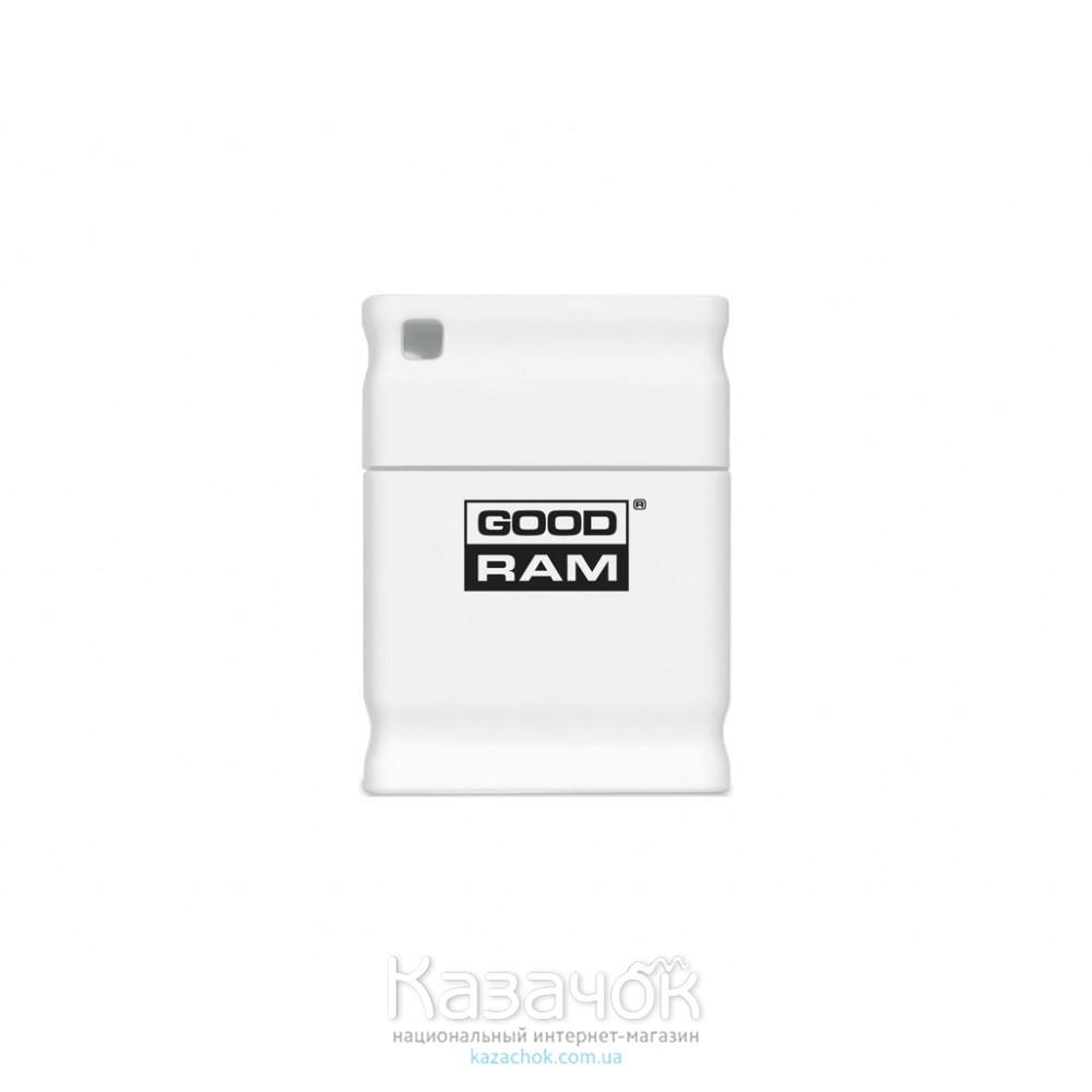 USB Flash GOODRAM 8GB UPI2 Piccolo White (UPI2-0080W0R11)