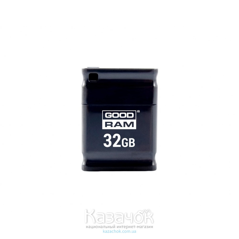 USB Flash GOODRAM 32GB UPI2 Piccolo Black (UPI2-0320K0R11)