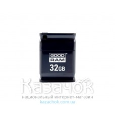 USB Flash GOODRAM 32GB UPI2 Piccolo Black (UPI2-0320K0R11)