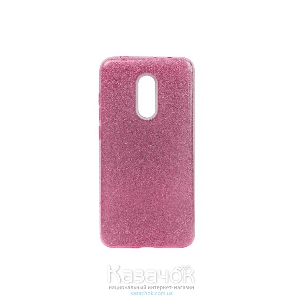 Силиконовая накладка Shine Xiaomi Redmi 5 Plus Rose