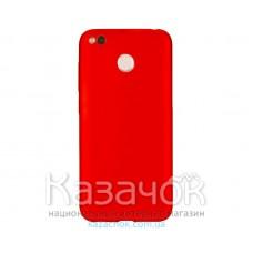 Силиконовая накладка T-PHOX Xiaomi Redmi 4X Shiny Red