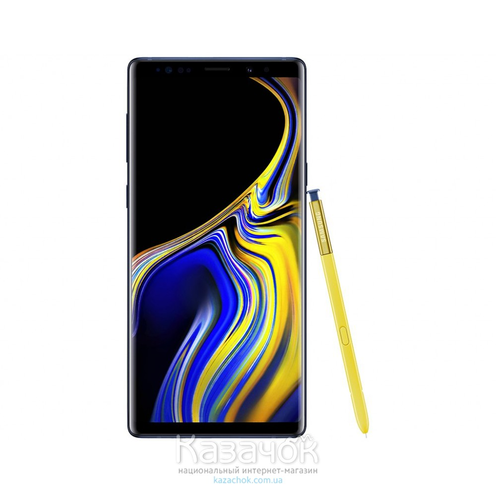 Смартфон Samsung Galaxy Note 9 N960F 6/128GB Ocean Blue