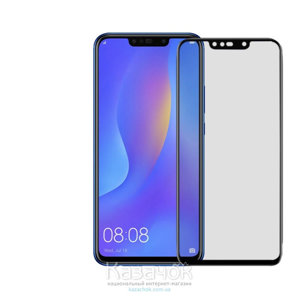 Защитное стекло Huawei P Smart Plus 5D Black