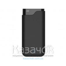 Внешний Аккумулятор Ergo LI-U6 12000 mAh TYPE-C Rubber Black