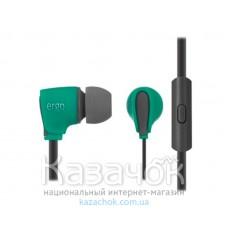 Наушники ERGO VM-110 Green