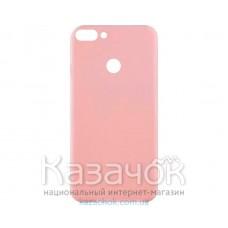 Силиконовая накладка Inavi Simple Color для Huawei P Smart Navy Peach
