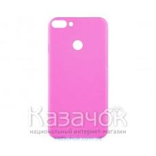 Силиконовая накладка Inavi Simple Color для Huawei P Smart Navy Pink