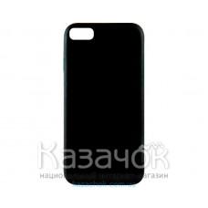 Силиконовая накладка Inavi Simple Color для iPhone 7/8 Black