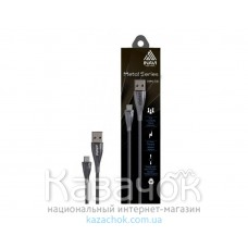 Кабель USB INAVI microUSB (NM-16) Black 2.1A