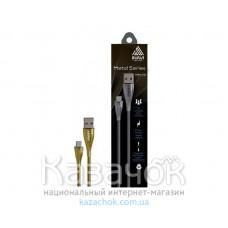 Кабель USB INAVI microUSB (NM-16) Gold 2.1A