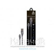 Кабель USB INAVI microUSB (NM-16) Silver 2.1A