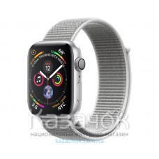 Apple Watch Series 4 GPS 44mm Silver Aluminium Case with Seashell Sport Loop (MU6C2)