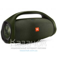 Портативная акустика JBL Boombox Green (JBLBOOMBOXGRNEU)