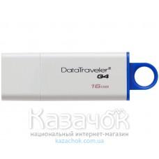 USB Flash Kingston DataTraveler DTIG4 16GB USB 3.0 Blue (DTIG4/16GB)