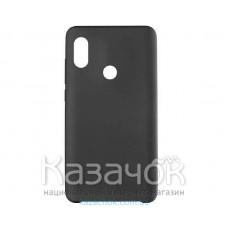 Силиконовая накладка Silicone Case для Xiaomi Redmi 6 Pro Mi A2 Black