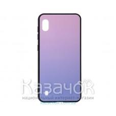 Силиконовая накладка Gradient Glass для Samsung M10 2019 M105 Pink