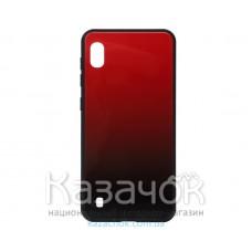 Силиконовая накладка Gradient Glass для Samsung M10 2019 M105 Red