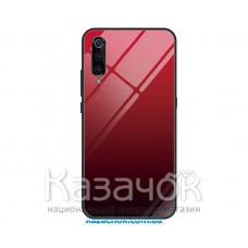 Силиконовая накладка Gradient Glass для Xiaomi Mi 9 Red