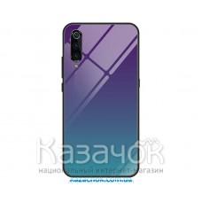 Силиконовая накладка Gradient Glass для Xiaomi Mi 9 Violet