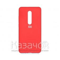 Силиконовая накладка Silicone Case для Xiaomi Mi 9T Red