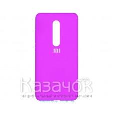 Силиконовая накладка Silicone Case для Xiaomi Mi 9T Violet