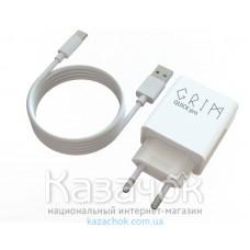 Сетевое зарядное устройство Grim Quick Pro CQP0119T Travel Charger+Type C